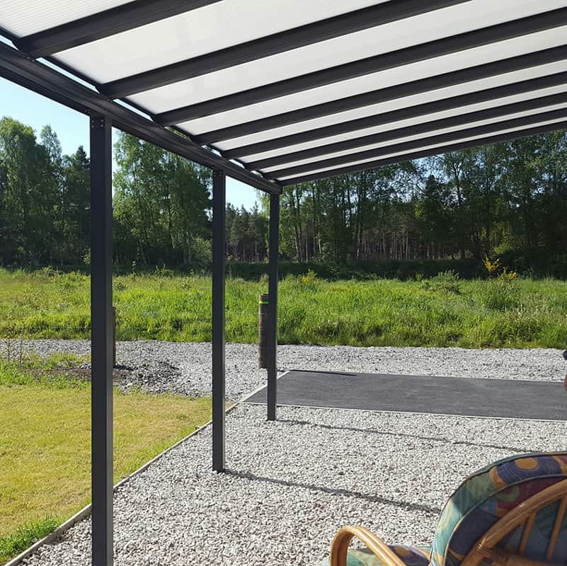 GREY CANOPY 6MM SOLID